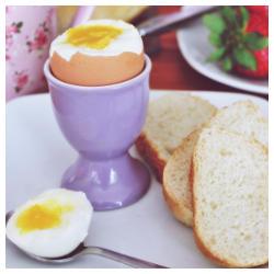 Idealne Jajko Na Miekko Gotowane Na Parze